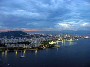 Brazil Rio De Janeiro Evening