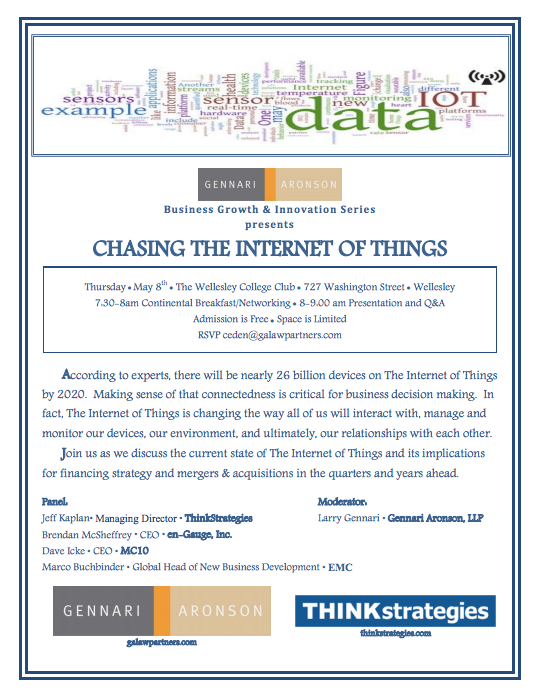 Chasing the Internet of Things